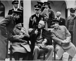 "The ""Big Three"": Churchill, Roosevelt and Stalin at Yalta 1945"