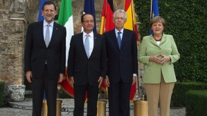 Some of the brains behind the survival of the EURO