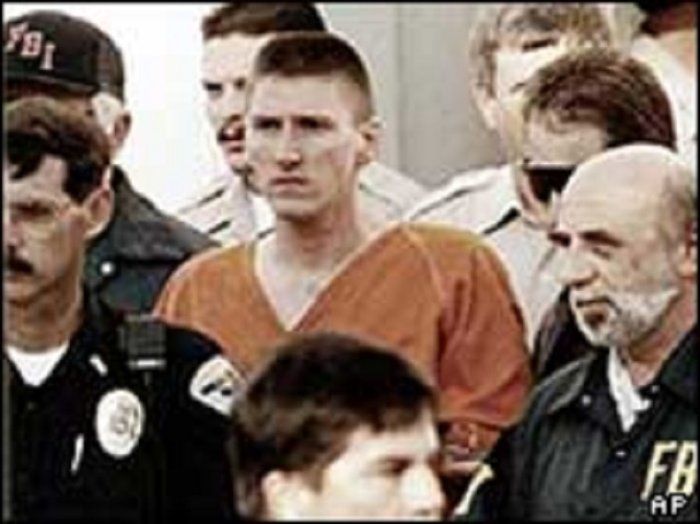 Timothy McVeigh was among those who believed the conspiracy theory
